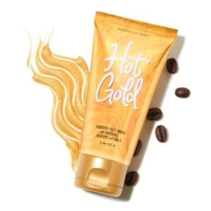 *Sealed Hot & Gold Firming, Gold-Infused Face Mask